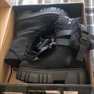 Club exx dolls kill boots size 8